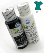 FolkArt Fabric Paint Teal - Clearance