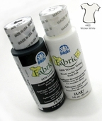 FolkArt Fabric Paint Wicker White
