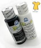 FolkArt Fabric Paint Yellow Light