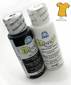 FolkArt Fabric Paint Yellow Ochre - Clearance