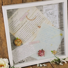 Framed Vintage Recipes