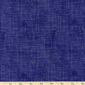 Freedom Line Texture Cotton Fabric - Navy