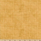 Freedom Line Texture Cotton Fabric - Yellow