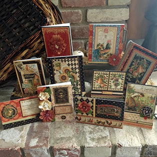 French Country Cards