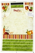 Fresh and Tasty Cotton Fabric - Apron Panel