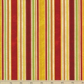 Fresh and Tasty Cotton Fabric - Simple Stripe Multi