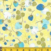 Fresh as a Daisy Cotton Fabric - pastel