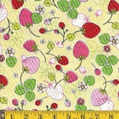 Fresh as a Daisy Cotton Fabric - spring - CLEARANCE