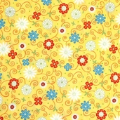 Fresh Flowers Fabric
