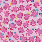 Froggies from Exclusively Quilters - Pink