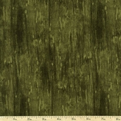 From the Market Wood Texture Cotton Fabric - Green