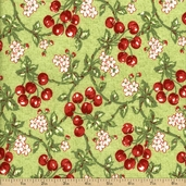 Fruit Salad Cotton Fabric - Green Q.1803-98520-773