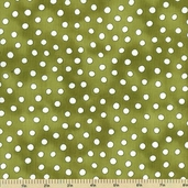 Fruitful Hands Cotton Fabric - Dot - Pear 9436-66