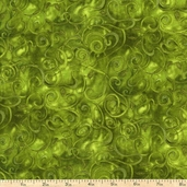 Fusions 11 Cotton Fabric - Leaf
