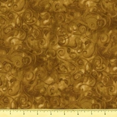 Fusions 11 Cotton Fabric - Ochre AJH-5572-126