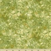 Fusions 11 Cotton Fabric - Sage AJH-5572-34
