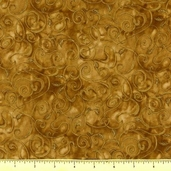 Fusions 11 Metallic Cotton Fabric - Camel AJHM-5572-244