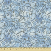 Fusions 11 Metallic Cotton Fabric - Water AJHM-5572-246