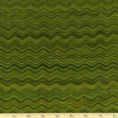 Fusions 4 Squiggles Cotton Fabric - Olive ETJ-12886-49 OLIVE