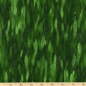 Fusions 4 Stripe Cotton Fabric - Forest ETJ-12881-44 FOREST
