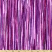 Fusions 4 Stripe Cotton Fabric - Fuchsia ETJ-12883-108 FUCHSIA