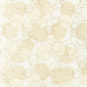 Fusions Collection Full Circle Cotton Fabric - Cream