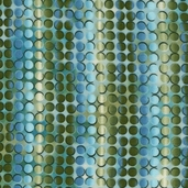 Fusions Collection Full Circle Cotton Fabrics - Spring