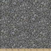 Fusions Regent Metallic Cotton Fabric - Ebony