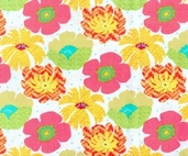 Garden Party Fabric Print - CLEARANCE