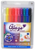Gelly Roll Glaze Pens 10 Pack - Glossy 3-D Brights