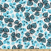 Geneva Cotton Fabric - Aqua J-3237-41