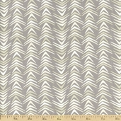 Geometriska Ayla Cotton Fabric - Taupe