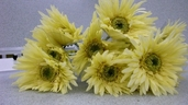 Gerbera Daisy Spray - 23 in - Pkg of 12 - Yellow