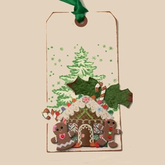 Gingerbread House Tag