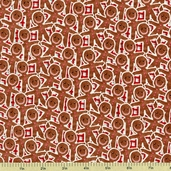 Gingerbread Man Cookie Snack Cotton Fabric