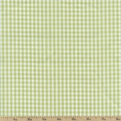 Gingham Check Cotton Blend - Apple Green 10105-APPLE-GREEN