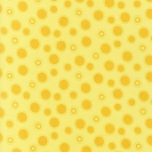 Girl Scouts Cotton Fabric - Yellow