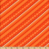 Girls Rock Cotton Fabric - Orange 05205-33