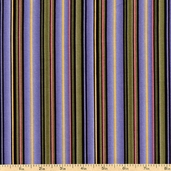 Giselle Cotton Fabric - Striped - Purple