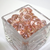 Glass Mini Nuggets - Pink Luster
