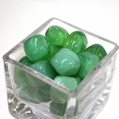 Glass Nuggets - Green