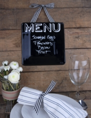 Glass Plate Chalkboard