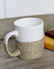 Glittered Mug or Glass