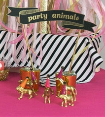 Gold Party Animals