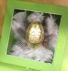 Golden Egg in a Box