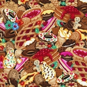 Got the Munchies Cotton Fabric - Desserts Multi