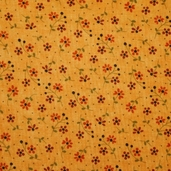 Grand Finale Dainty Flowers Cotton Fabric - Goldenrod