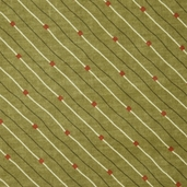 Grand Finale Seasonal Stripe Cotton Fabric - Moss - CLEARANCE PRICE IS FOR 1 1/2 YARDS