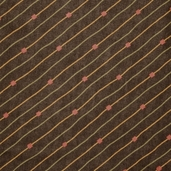 Grand Finale Seasonal Stripe Cotton Fabric - Walnut