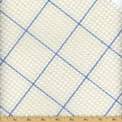 Graph 'N Latch Rug Canvas - 3.75 Mesh - Blue Lined Grid